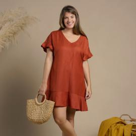 Robe Cozy | patron de couture robe Pretty Mercerie | mercerie en ligne