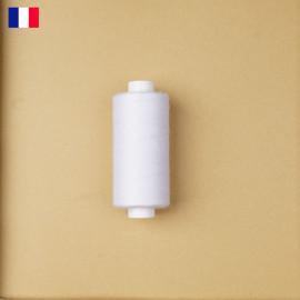 Fil à coudre blanc haute ténacité 500 m | fabrication française | Pretty Mercerie | Mercerie en ligne