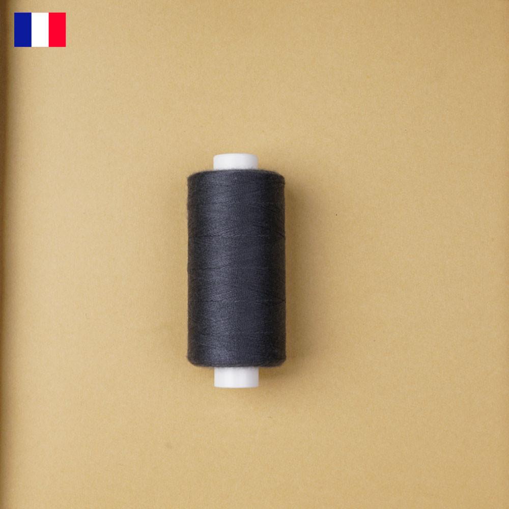 Fil à coudre gris foncé haute ténacité 500 m | fabrication française | Pretty Mercerie | Mercerie en ligne