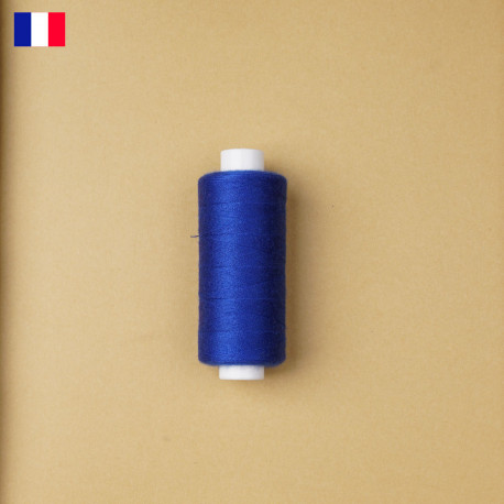 Fil à coudre classic blue haute ténacité 500 m | fabrication française | Pretty Mercerie | Mercerie en ligne