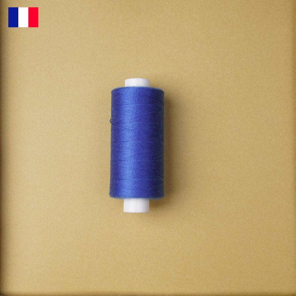 Fil à coudre bleu palace haute ténacité 500 m   fabrication française   Pretty Mercerie   Mercerie en ligne