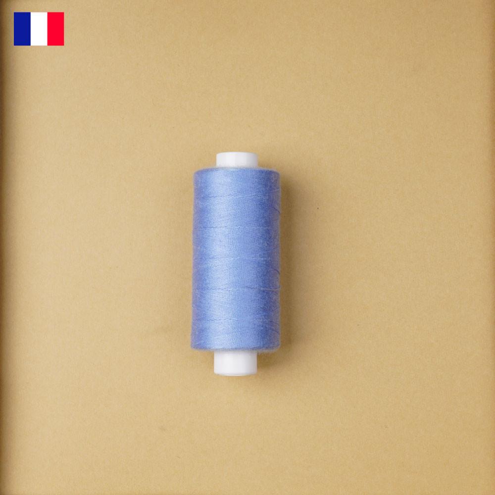 Fil à coudre bleu ciel haute ténacité 500 m   fabrication française   Pretty Mercerie   Mercerie en ligne