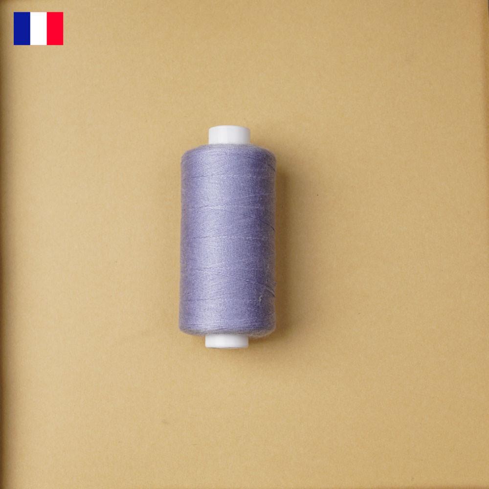 Fil à coudre bleu lavande haute ténacité 500 m | fabrication française | Pretty Mercerie | Mercerie en ligne