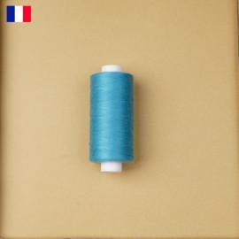 Fil à coudre blue peacock haute ténacité 500 m   fabrication française   Pretty Mercerie   Mercerie en ligne