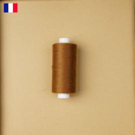Fil à coudre marron biscuit haute ténacité 500 m | fabrication française | pretty Mercerie | Mercerie en ligne