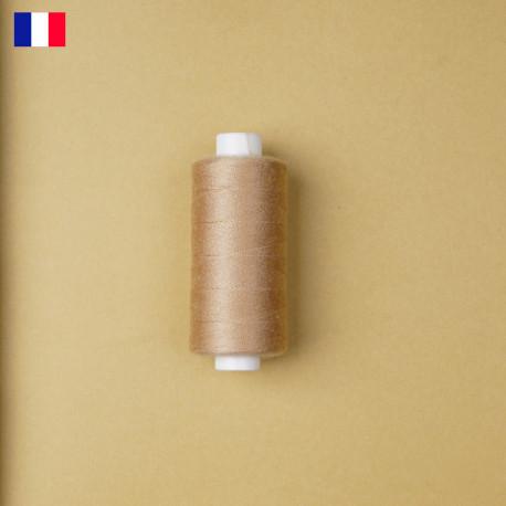 Fil à coudre beige rosé haute ténacité 500 m | fabrication française | pretty Mercerie | Mercerie en ligne