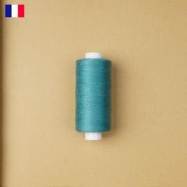 Fil à coudre bleu canard ténacité 500 m | fabrication française | pretty Mercerie | Mercerie en ligne
