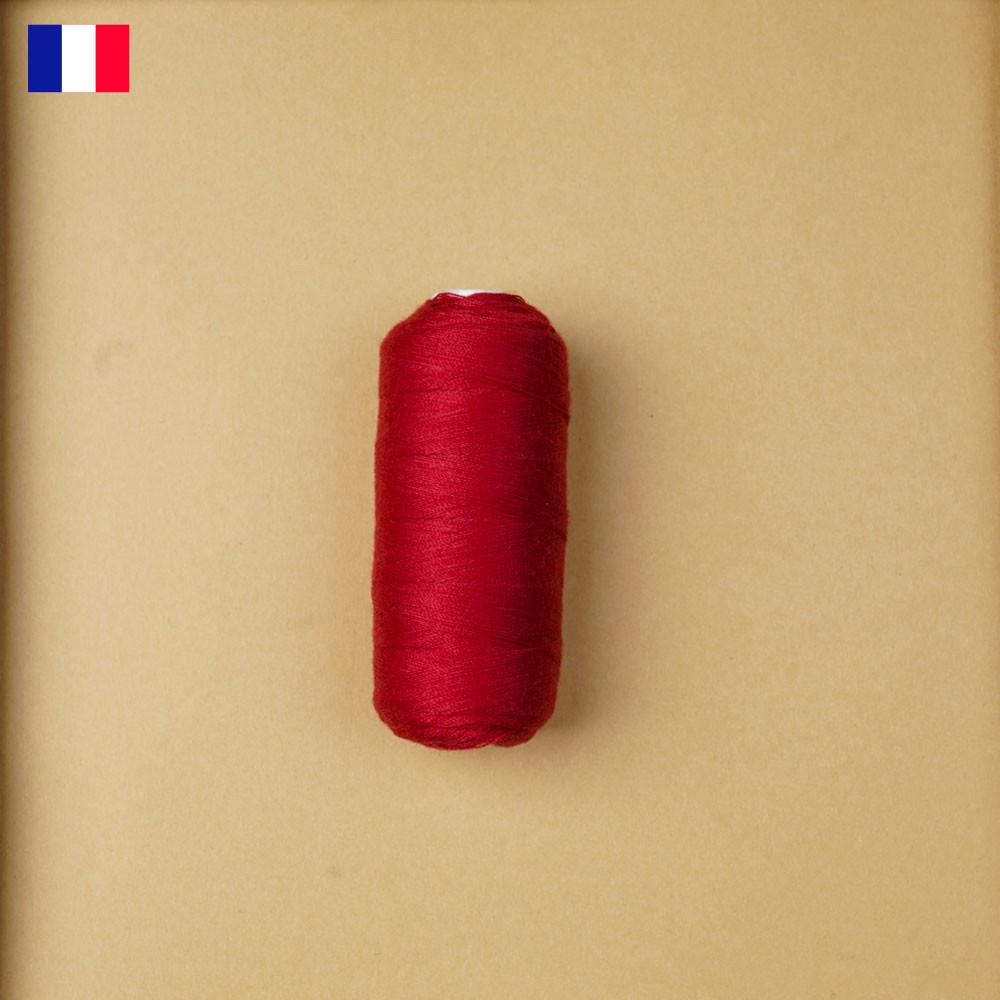 Fil à coudre rouge ténacité 500 m | fabrication française | pretty Mercerie | Mercerie en ligne