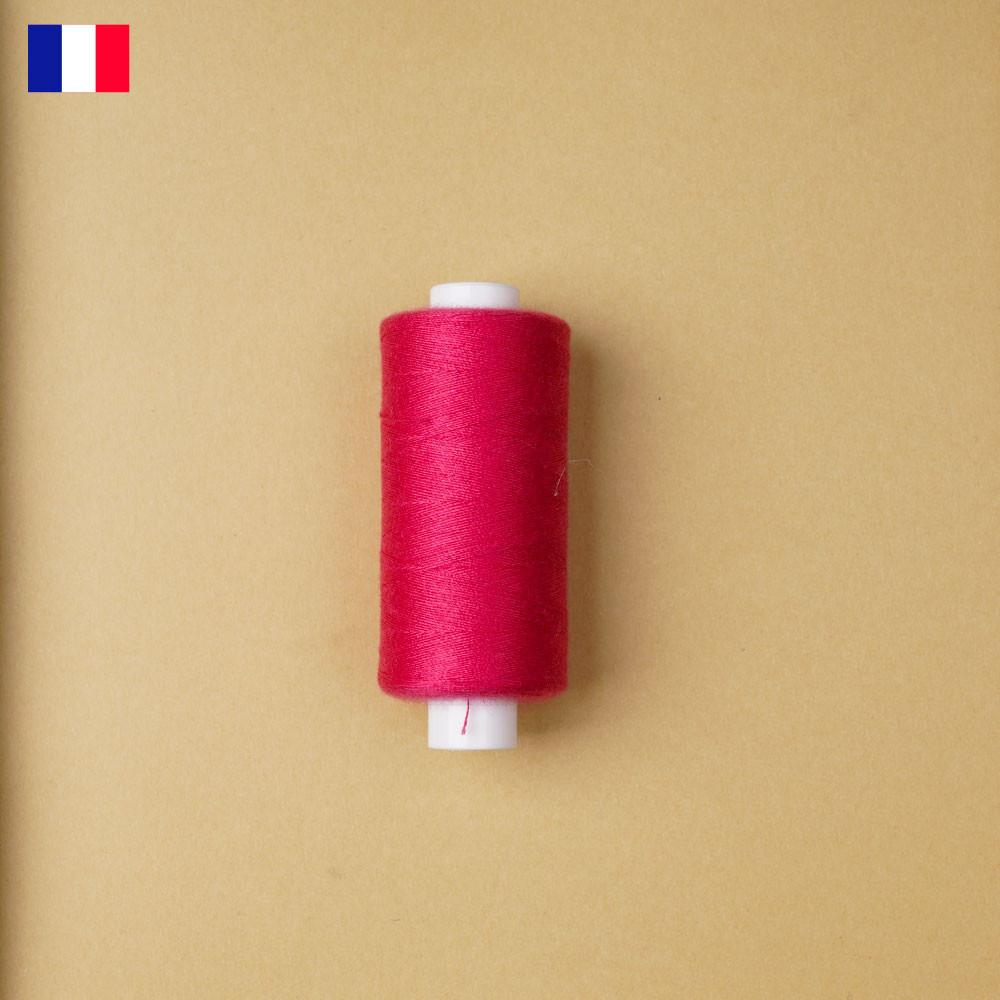 Fil à coudre rose fuchsia ténacité 500 m | fabrication française | pretty Mercerie | Mercerie en ligne