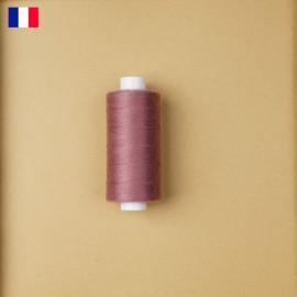 Fil à coudre vieux rose ténacité 500 m | fabrication française | pretty Mercerie | Mercerie en ligne