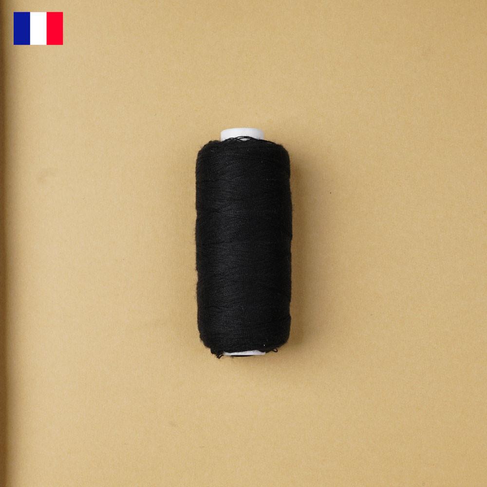 Fil à coudre noir ténacité 500 m   fabrication française   pretty Mercerie   Mercerie en ligne