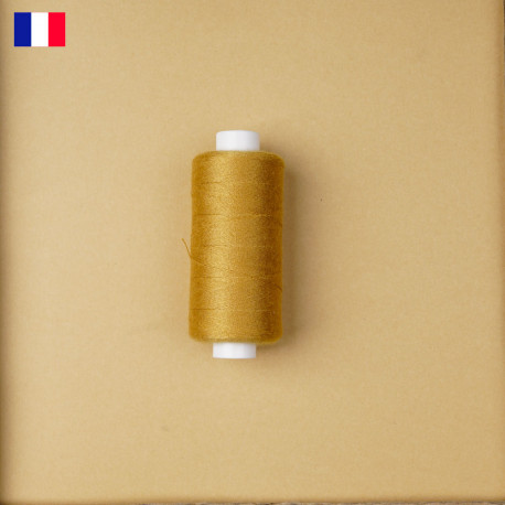 Fil à coudre honey gold ténacité 500 m | fabrication française | pretty Mercerie | Mercerie en ligne