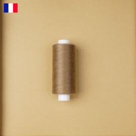 Fil à coudre taupe ténacité 500 m | fabrication française | pretty Mercerie | Mercerie en ligne