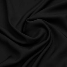 Tissu viscose Tencel et lin noir | Pretty Mercerie | Mercerie en ligne