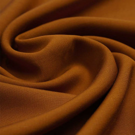 Tissu viscose Tencel et lin ginger | Pretty Mercerie | Mercerie en ligne