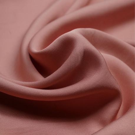 Tissu viscose Tencel et lin rose dawn | Pretty Mercerie | Mercerie en ligne
