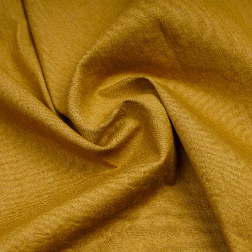 Tissu toile denim stretch vert cyprès | pretty mercerie | mercerie en ligne