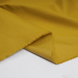 Tissu denim chino ocre - pretty mercerie - mercerie en ligne