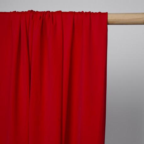 Tissu maillot de bain rouge intense | Pretty Mercerie | mercerie en ligne