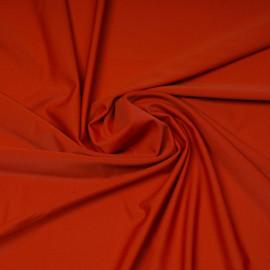 Tissu maillot de bain orange rust | Pretty Mercerie | Mercerie en ligne