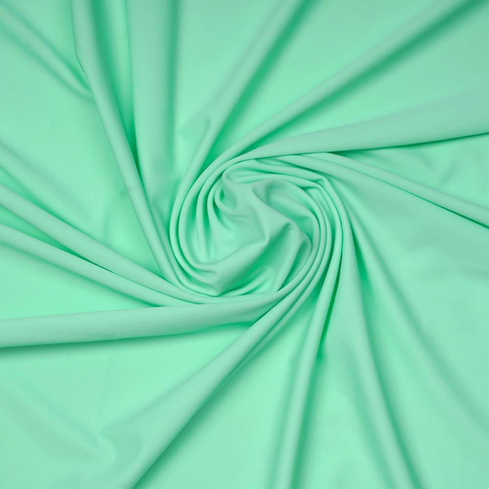 Tissu maillot de bain menthe à l'eau | Pretty Mercerie | Mercerie en ligne