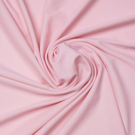 Tissu maillot de bain rose pastel | Pretty Mercerie | Mercerie en ligne