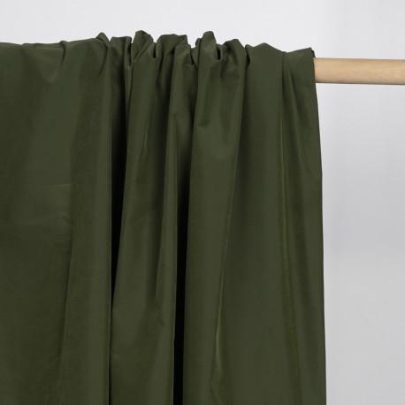 Tissu maillot de bain homme olive    Pretty Mercerie   mercerie en ligne