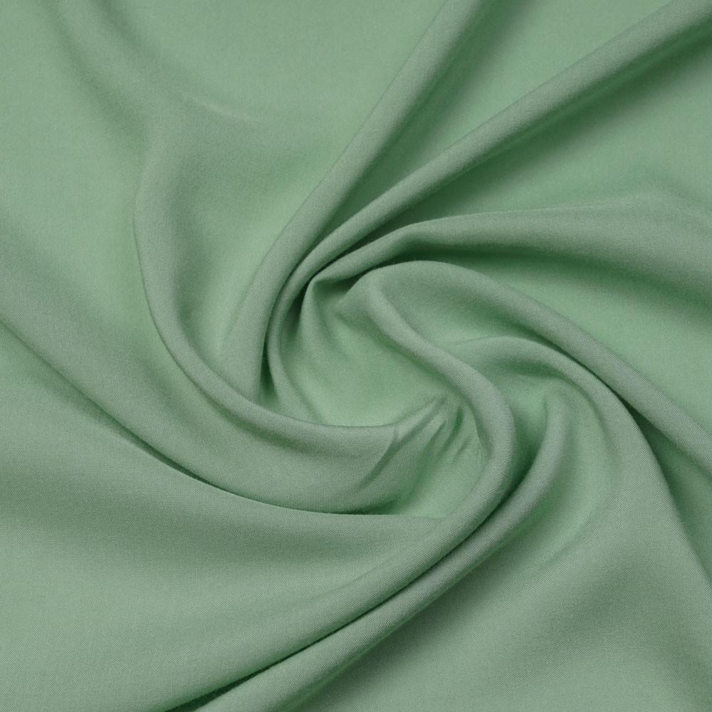 Tissu viscose uni vert sauge | Pretty Mercerie | mercerie en ligne