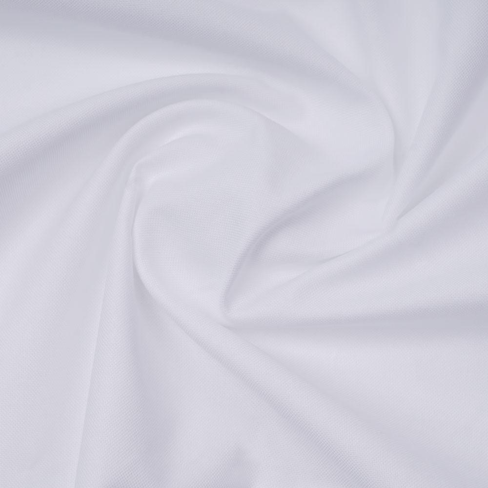 Tissu coton oxford blanc | Pretty Mercerie | mercerie en ligne
