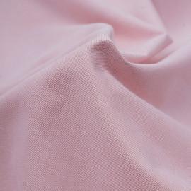 Tissu coton oxford rose et blanc | Pretty Mercerie | mercerie en ligne