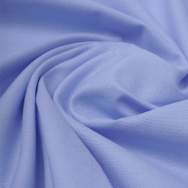 Tissu coton oxford blanc et bleu ciel   Pretty Mercerie   mercerie en ligne