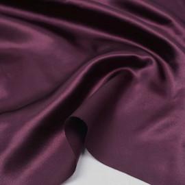 Tissu doublure satin polyester prune   pretty mercerie   mercerie en ligne