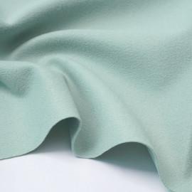 Tissu lainage vert pastel | Pretty Mercerie | mercerie en ligne