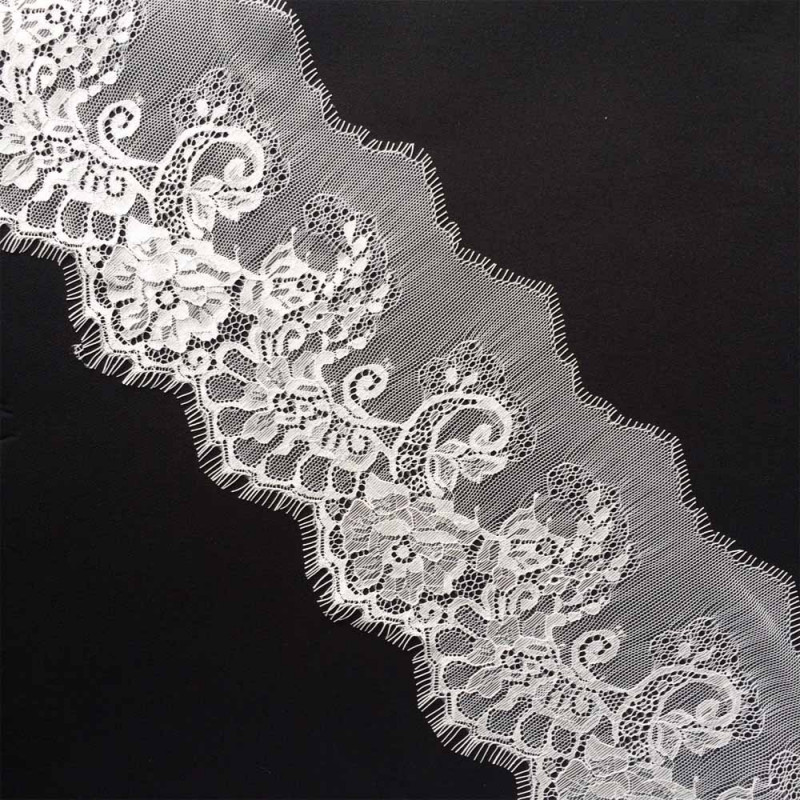 RUBAN DENTELLE BLANC x 2,95 M
