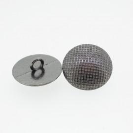 Gold geometric round button