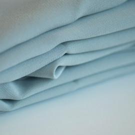 achat tissu 100 % soie crêpe de chine glacier grey - pretty mercerie - mercerie en ligne