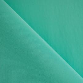achat tissu 100 % soie crêpe de chine lucite green - pretty mercerie - mercerie en ligne