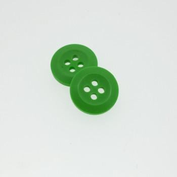 Bouton Polyester Vert Absinthe 15mm