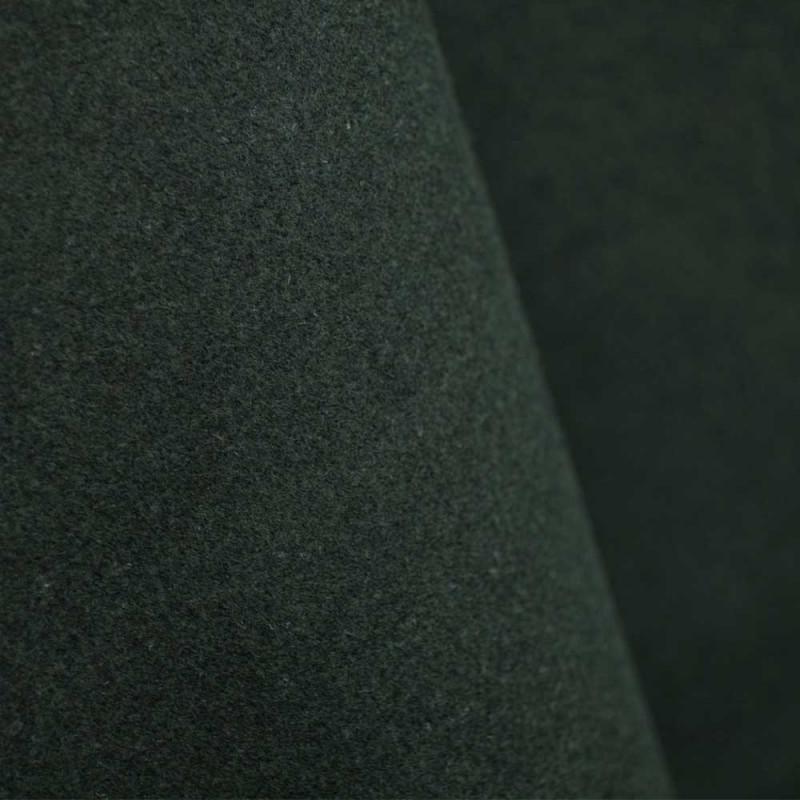 Drap de laine vert chasseur x 10cm