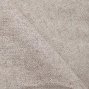 Tissu lainage Sand dollar chiné x 10cm