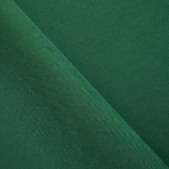 Tissu sweat vert sapin x 10cm