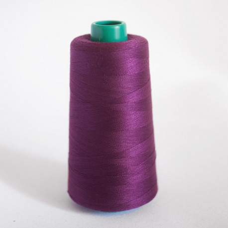 CÔNE FIL POLYESTER DARK PURPLE