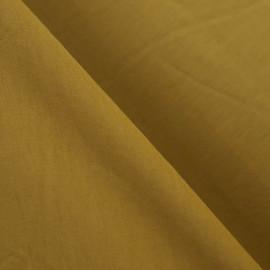 TISSU JERSEY MOUTARDE  x 10cm