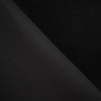 Doublure coton noir x 10cm