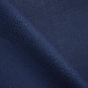 Doublure coton bleu patriote x 10cm