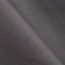 Doublure coton gris foncé x 10cm