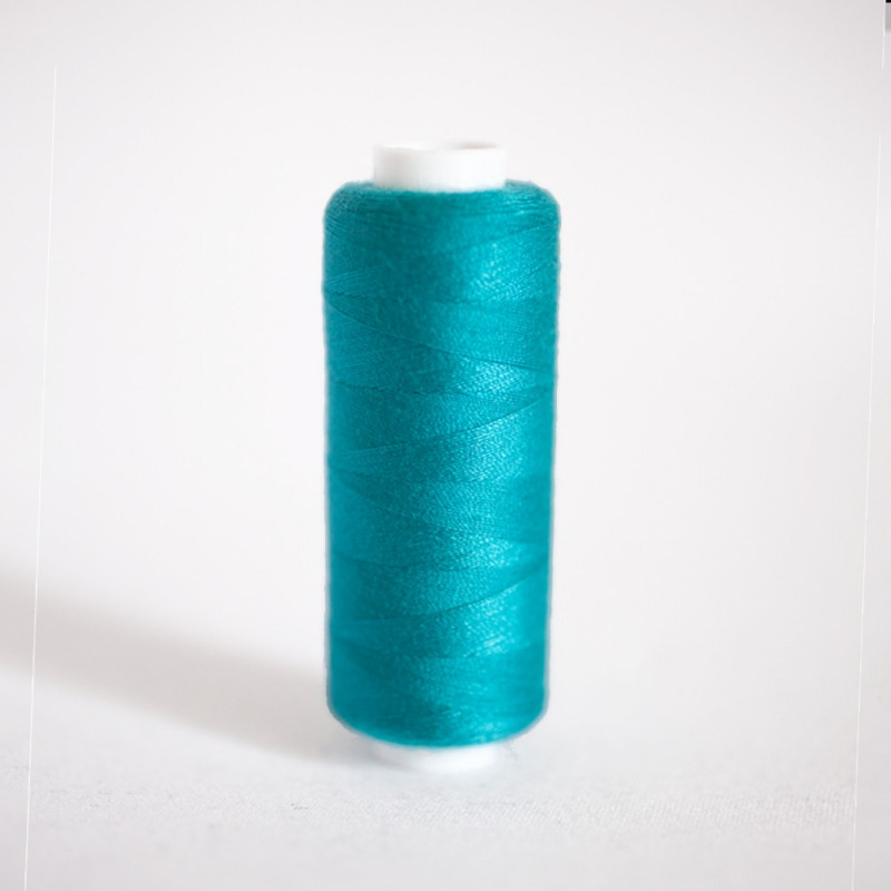 FIL POLYESTER PEOACOCK BLUE