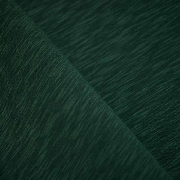Tissu sweat vert chiné x 10cm