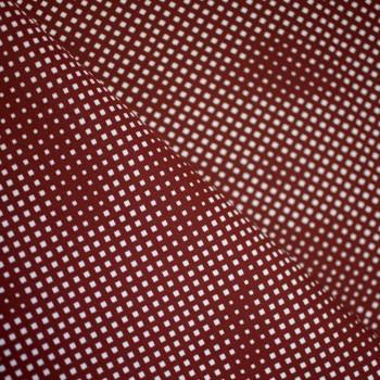 TISSU COTON IMPRIME LOSANGE x 10cm