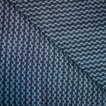 TISSU COTON IMPRIME WAVES x 10cm